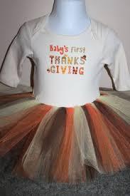 babys thanksgiving tutu set fall colors