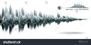 Sound Wave by Vector Sound Wave Music Waves Oscillating Stock Vector 541313389