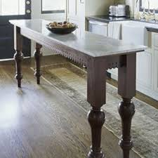 long narrow kitchen island layout with long narrow kitchen table