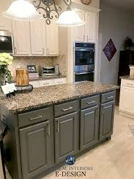 blue kitchen cabinets with granite countertops how to update your granite countertops m interiors