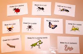 mom to 2 posh lil divas insect and bug themed movement game
