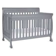 Side Rails For Convertible Crib Davinci Kalani 4 In 1 Convertible Crib Grey Baby