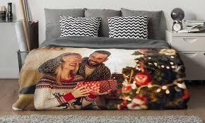 faux mink plush photo blankets canvasonsale groupon