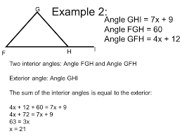 The Interior Angles Of A Triangle Always Add Up To Interior And Exterior Angles Of A Triangle What Do We Know About