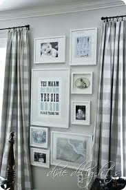 Grey Plaid Curtains Black And White Plaid Curtains And White Buffalo Check Valance