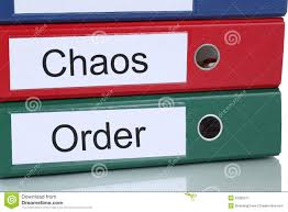 bureau d ordre organisation de chaos et d ordre dans le concept d affaires de