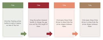 Four Column Chart Template by Arrow Style Four Column Chart Exles And Templates