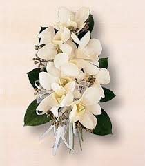 Orchid Corsage Dendrobium Orchid Corsage Pure White Elegance Flowers Los