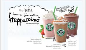 starbucks caramel light frappuccino blended coffee starbucks canada half price frappaccinos may 7 16 3 5pm only