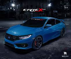 honda civic 2017 coupe 2017 honda civic si goes turbo at 2016 los angeles auto show