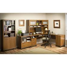 office desk l shaped with hutch bush office connect achieve l shaped desk with hutch and lateral