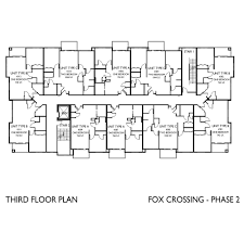 floor plans fox crossing apartments