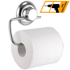 strong man toilet paper holder maxhold no drilling suction cup toilet paper roll holder vaccum