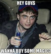 Daniel Radcliffe Meme - you guys is harry potter getting weirder as he gets older