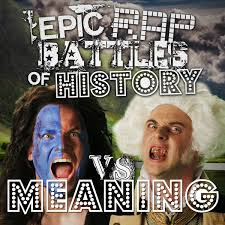 Rap Battle Meme - george washington vs william wallace rap meanings epic rap