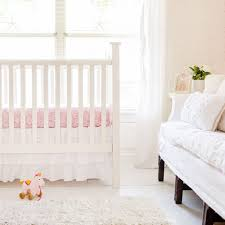 All White Crib Bedding White Ruffled Crib Skirt Crib Skirt White Baby Bedding