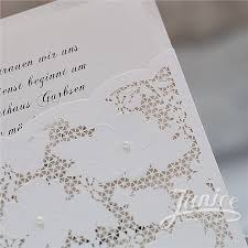 pocket wedding invitation fancy floral pearl laser cut wholesale pocket wedding invitation
