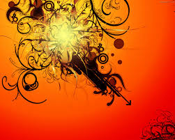 wallpaper bunga warna orange abstract orange vectors wallpaper abstract graphic wallpaper