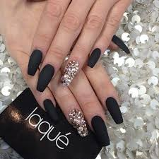 228 best french coffin gel nails images on pinterest coffin