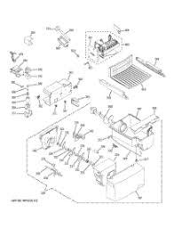 parts for ge gsh25jstass refrigerator appliancepartspros com