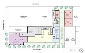 parking lot floor plan 8 story hotel proposed for soma parking lot hoodline