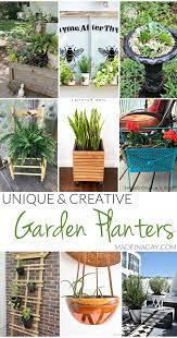 Herb Garden Planter Ideas by Unique Creative Garden Planter Ideas Made In A Day