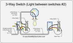 two way light switch wiring diagram electrical pinterest