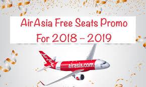 airasia singapore promo airasia free seats promo for 2018 2019 starts 5th march