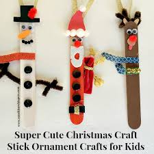 craft stick ornament crafts for
