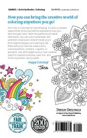 Go Design by Amazon Com Color Cute Coloring Book Perfectly Portable Pages On