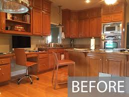 images of kitchen cabinets that been painted painting cabinets before or after changing the backsplash