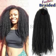 grey marley braiding hair new 18nch 100gram havana mambo twist of afro kinky marley african