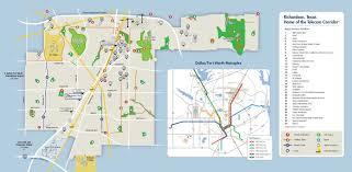 Dart Dallas Map City Of Richardson Cooksey Communications