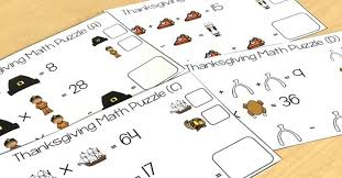 free thanksgiving puzzles math logic puzzles teaching to