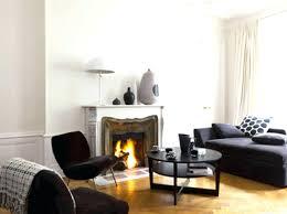 salon avec canapé noir canape canape noir et blanc design beautiful idee deco salon avec
