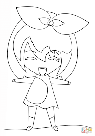 kawaii coloring page free printable coloring pages 13437