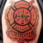 firefighter tattoos for chest spotlight mag spotlight mag
