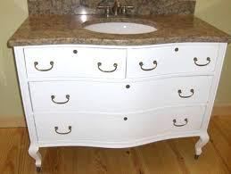 Old Dresser Made Into Bathroom Vanity Vanities Antique Dresser Vanity Converting Antique Dresser Into