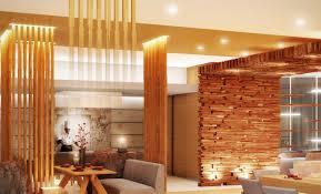interior fantastic long narrow wooden home kitchen along with