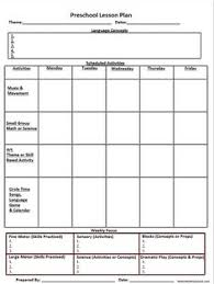 printable homeschool lesson plan template weekly thematic unit planner plus many other homeschool planner