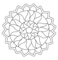simple mandala designs vector images 580