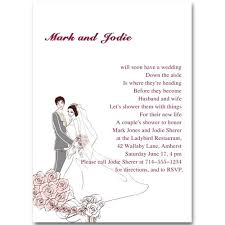 Couple S Shower Invitations Custom Pink Coed Couples Wedding Shower Invitations Online Ewbs010