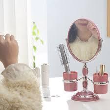 Cermin Dua Sisi penawaran bagus portabel putri kesombongan cermin dua sisi cermin