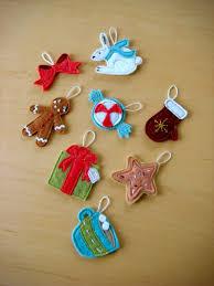 felt christmas ornaments christmas ideas