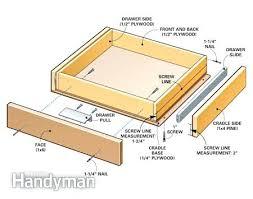 kitchen cabinet drawer parts kitchen cabinet drawer parts how to build under cabinet drawers