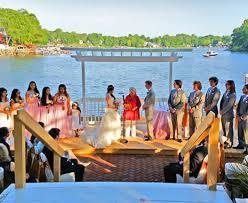 waterfront wedding venues in md weddings bleues on the water maryland waterfront wedding venue
