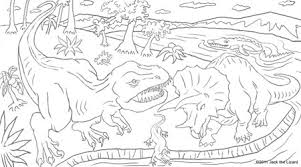 prehistoric animal coloring pages jack lizard