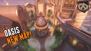 Map Pad Overwatch Oasis Gameplay New Control Map Oasis Cars Jump
