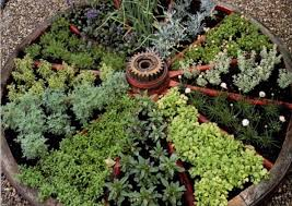 vegetable garden decorating ideas