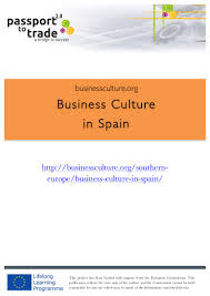 spanish business culture guide learn about spain